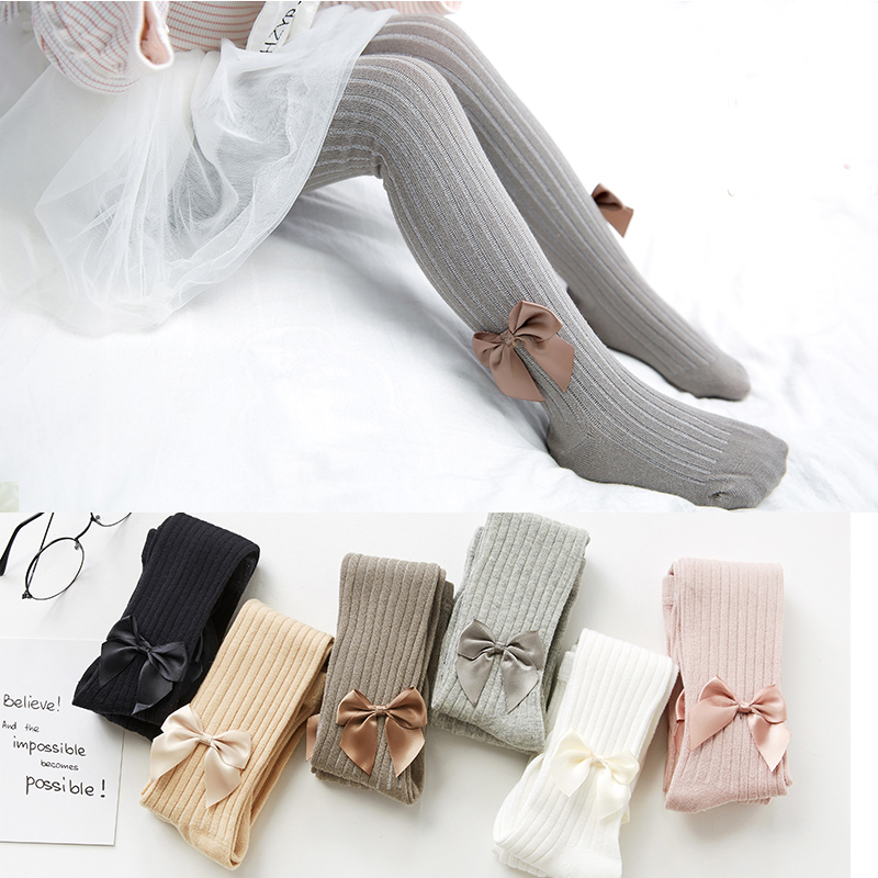 Girls Tights Baby Toddler Infant Kids Girls Tights Knitted Cotton Soft Warm Pantyhose Child Girl Hosiery Baby Newborn Stockings