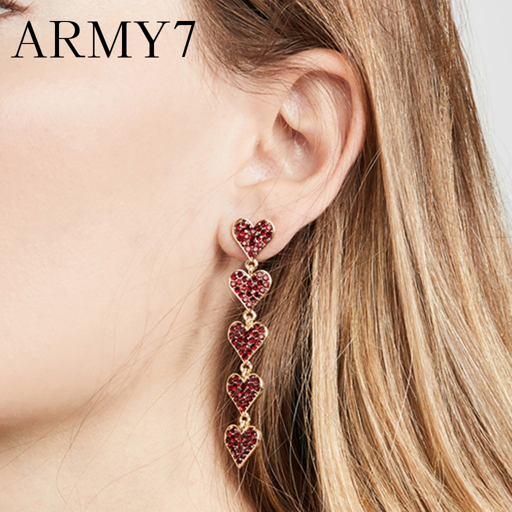 Nuevo Pendientes Colgantes de Diamantes de Imitación Largo Borla Mujer Damas Chicas boho flecos Gota