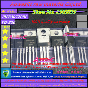 Image 2 - Aoweziic 2019 + 100% neue importiert original IRFB3077PBF IRFB3077 FET N kanal 75V 210A