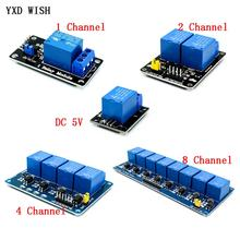 5V 1 2 4 8 channel Relay module with optocoupler Re