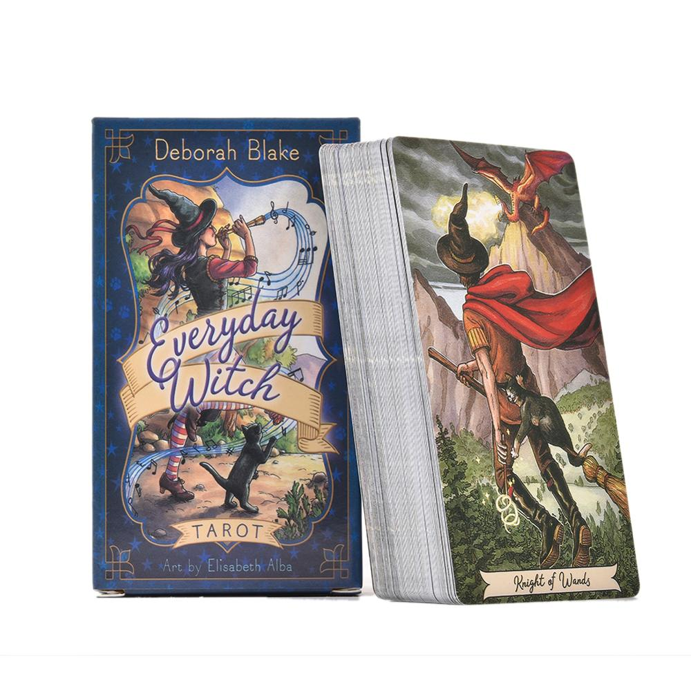 Witch Tarot English Card Fascinating Images Easy To Learn 40MP04