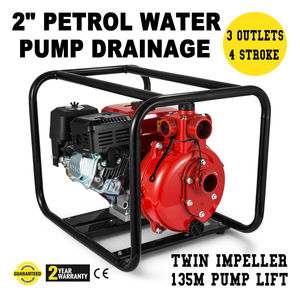Transferência de água portátil 7.5 hp da água do epa da irrigação da inundação da bomba de água a gás 2