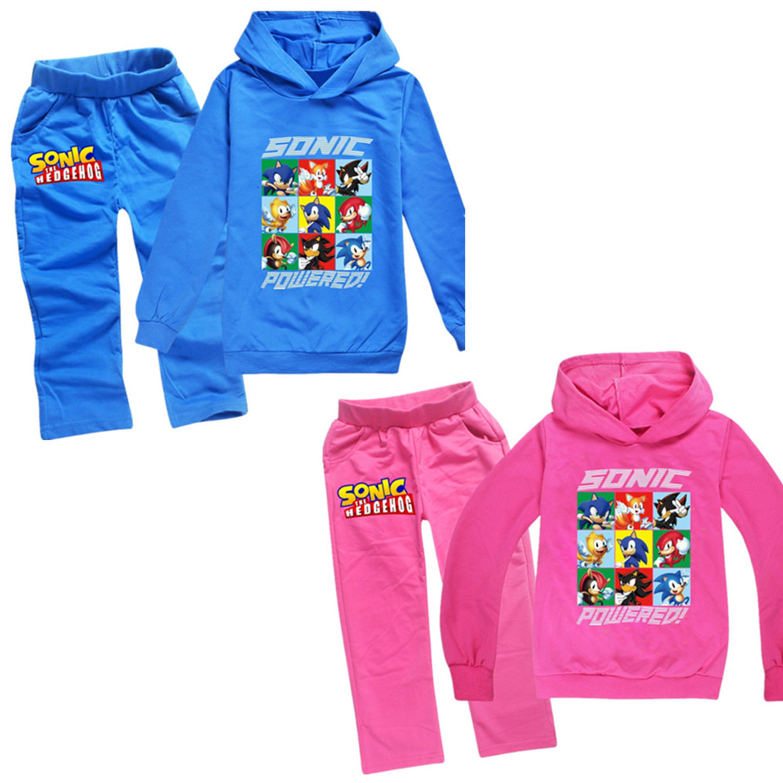 Toddler Girl Clothes Sonic The Hedgehog Fashion Hooded T Shirt Boys Casual Sportswear Cartoon Hoodies Baby Girls Coats Sets 701 Buy At The Price Of 5 38 In Aliexpress Com Imall Com