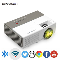 A3 Portable Mini LED Home Theater Projector Digital Android WiFi Bluetooth Video Game Cinema Full Hd 1080p Support 4K video Beam