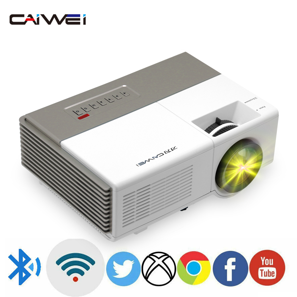 A3 Portable Mini LED Home cinéma projecteur numérique Android WiFi Bluetooth jeu vidéo cinéma Full Hd 1080p Support 4K faisceau vidéo