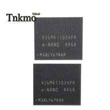 1 adet 2 adet 5 adet 10 adet H26M41103HPR BGA 153 H26M41103 BGA153 41103 EMMC bellek 8GB FLASH yeni boş veri yazı yeni ve orijinal
