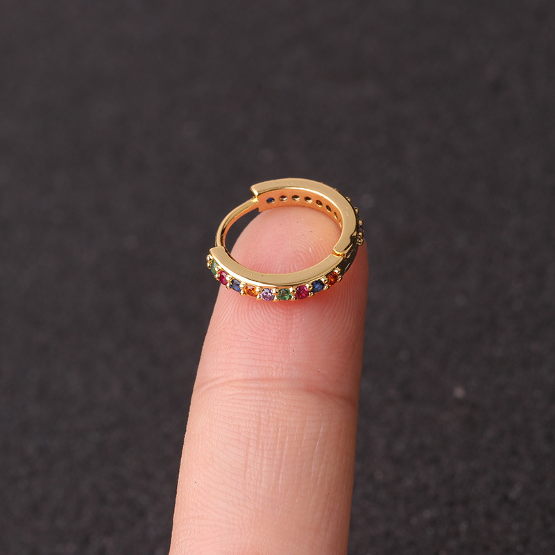 gold colorful 10mm