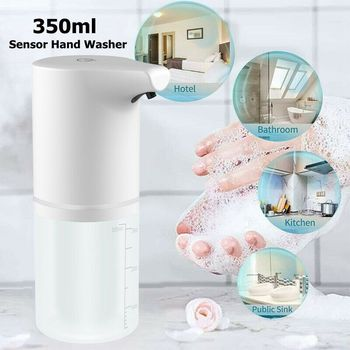 Automatic Foam Soap Dispenser Charging Infrared Induction Sensor Touchless Kitchen Hand Washer Sanitizer Bathroom Accessories 1