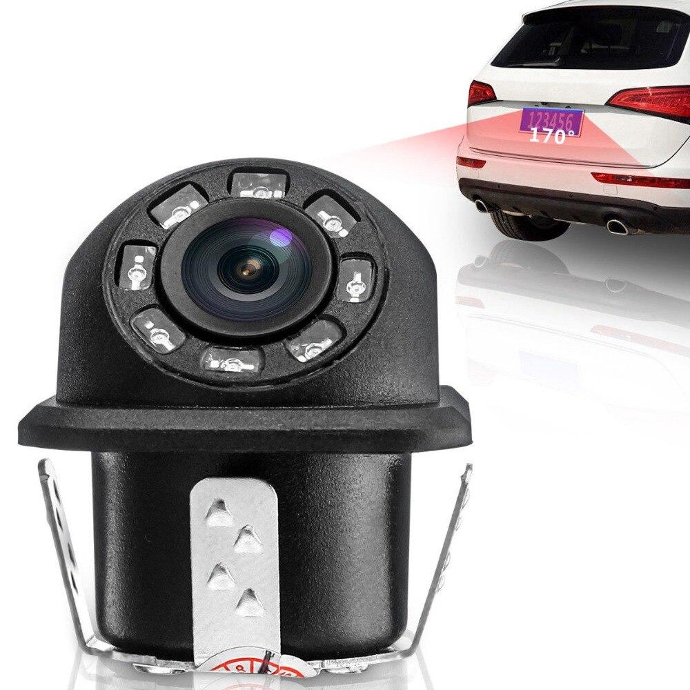 New HD Night Vision Car Rear View Camera 170° Wide Angle Reverse Parking Camera Waterproof CCD LED Auto Backup Monitor Universal (25)