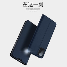 Dux Ducis Skin Touch Pu Leather Case For Samsung Galaxy A81 A91 A41 A31 Luxury Slim Card Slot Wallet Stand Flip Cover Case Bags mooncase slim leather side flip wallet card slot pouch with kickstand shell back чехол для samsung galaxy a3 blue