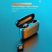 Наушники-вкладыши Tws Bluetooth 5,0 Беспроводной гарнитура Insma Airbuds с Qi Беспроводная зарядка чехол Мини Наушники Hi-Fi стерео Беспроводной гарнитура ...