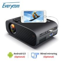 Tout le monde M7 vidéoprojecteur LED HD 720P Portable HDMI en option Android Wifi Beamer prise en charge Full HD 1080P Home cinéma