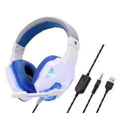 3.5mm wired gaming headset deep bass jogo fone de ouvido profissional computador gamer com microfone hd para o serviço do computador