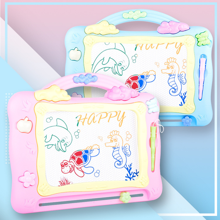 CHILDREN'S Drawing Board Magnetic Multicolor Large Writing Board Baby Nursery Graffiti Drawing Board Household Drawing Board Toy