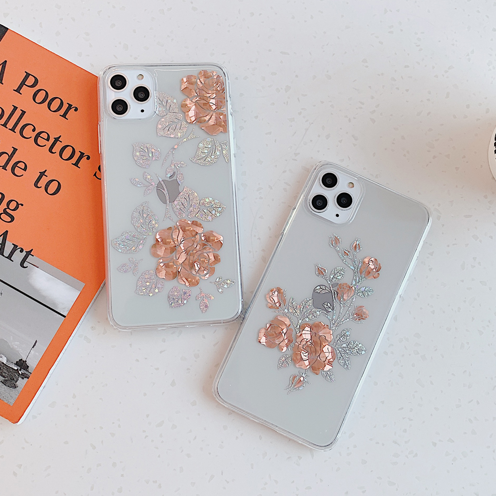 Flowers Clear Cases