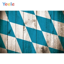 Yeele Oktoberfest Party Photocall Fade Wood Squares Photography Backdrops Personalized Photographic Backgrounds For Photo Studio
