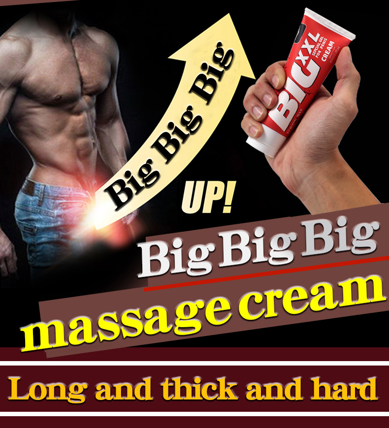 Herbal Big Dick Penis Enlargement Cream 65ml Increase Xxl Size Erection Products Sex Products for Men Aphrodisiac Pills for Man