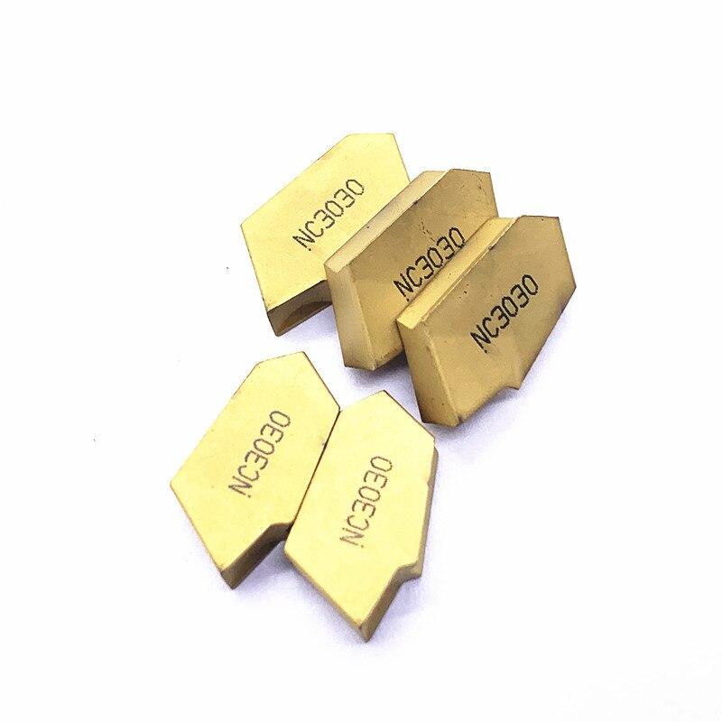Купить с кэшбэком SP400 PC9030 NC3020 NC3030 grooving carbide inserts  cutter turning tool Parting and grooving tool Parting off