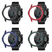 Anti-scratch TPU Watch Cover Case Protector Bumper for Hua-wei Honor Magic 2 (46mm) Smart Watch Accessories
