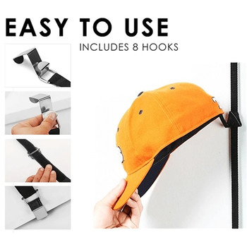 Adjustable Cap & Bag Door Rack  5