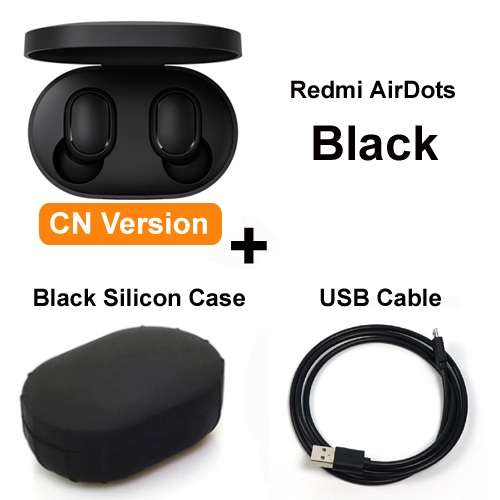 Original Xiaomi Redmi AirDots TWS Wireless Bluetooth Earphone Stereo Bluetooth 5.0 Mini Headset With Mic Earbuds