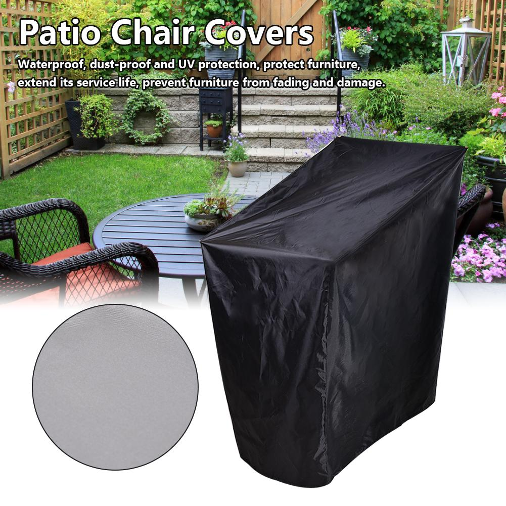 Patio Chair Covers Stackable 210d