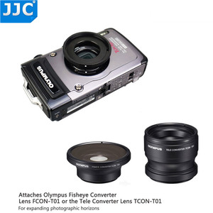 Image 3 - JJC Lens Adapter Ring Tube for Olympus Tough TG6 TG5 TG4 TG3 TG2 TG1 Camera FCON T01 TCON T01 as CLA T01 40.5mm Filter Thread
