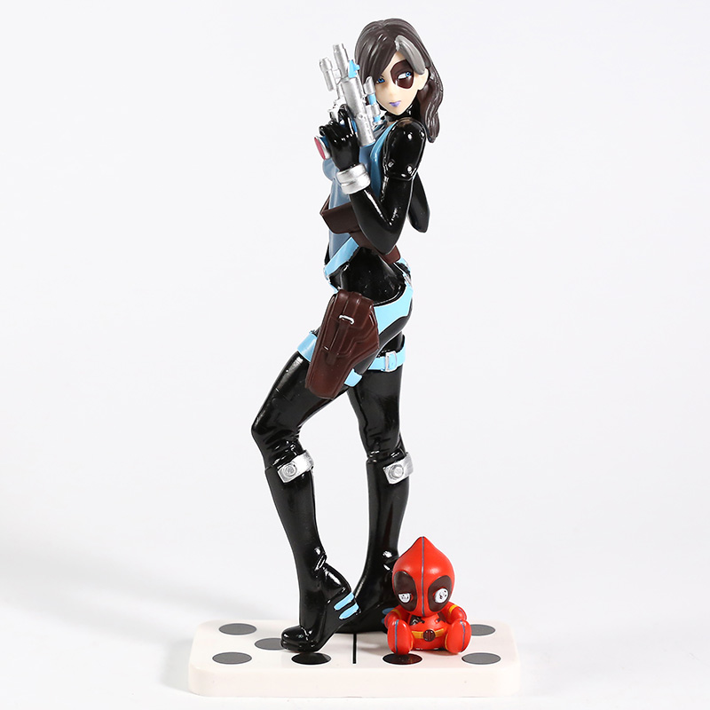 Image 2 - Marvel X Men Domino Neena Thurman Bishoujo 1/7 Scale PVC Figure Collectible Model Toy-in Action & Toy Figures from Toys & Hobbies