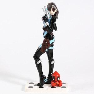 Image 2 - X Men Domino Neena Thurman Bishoujo 1/7 Scale PVC Figure Collectible Model Toy