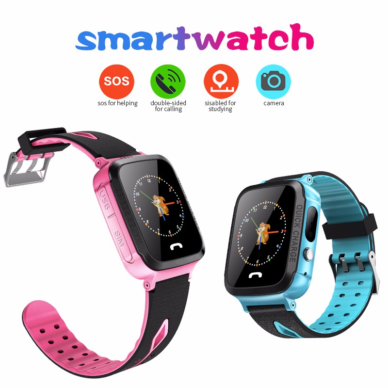 H642e4840f27a42e08ded0381db67031dy - GPS kids Smart Watch Phone Position Children Watch 1.22 inch Color Touch Screen WIFI SOS Tracker Smart Baby Watch IOS & Android