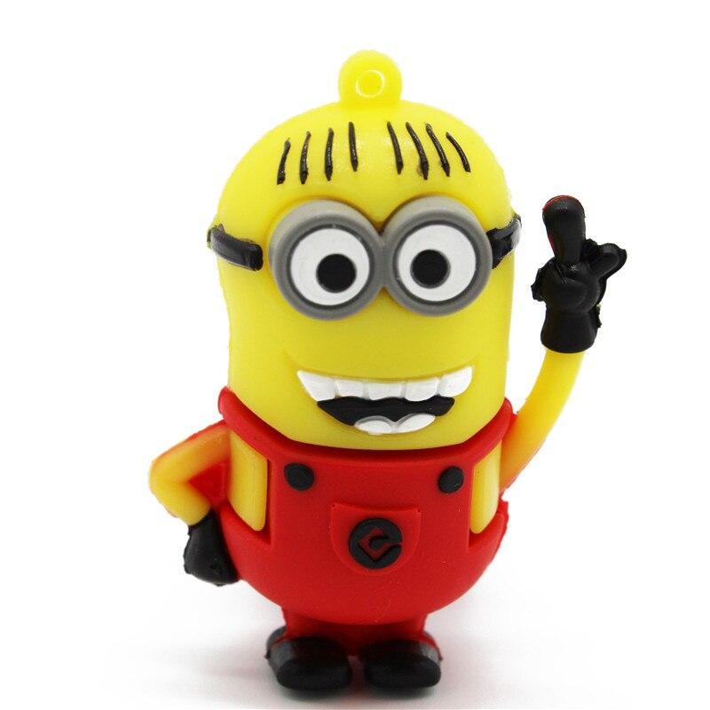 BiNFUL Lovely 64GB Mini Cartoon Puppet Usb 4gb 8gb 16gb 32gb 64gb Gift Pen Drive Usb Flash Drive