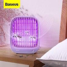 Baseus-lampe anti-moustiques, lampe UV électronique anti-insectes, piège à mouches, choc électrique, lumière USB