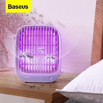 Baseus Mosquito Killer Lamp UV Light Electronic Insect Killer Bug Zapper Flies Trap Lamp Electric Shock Anti Mosquito USB Light