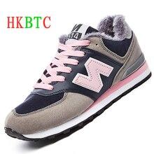 2019 otoño invierno nuevas zapatillas de mujer calientes y cómodas zapatillas de correr transpirables para caminar al aire libre más zapatos de terciopelo