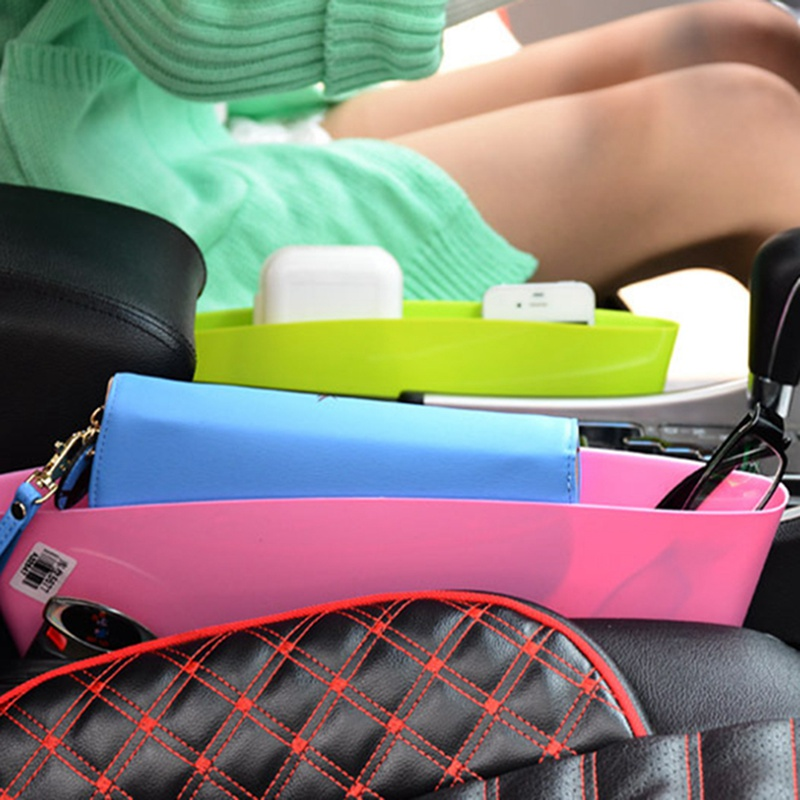 Universial Car Seat Gap Slit Pocket Storage Organizer Car Interior Organizing Accessary 4 Colors