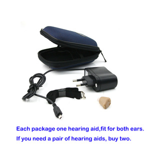 Image 4 - jyoucare Hearing Ear Aid Rechargeable Convenient Adjustable Mini Hearing Aids Invisible Hear the Elderly Deaf Ear care tools