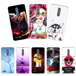 Soft silicone Phone Case For ZTE Blade ZMAX Pro Z981 Z MAX Material Phone Case Back Cover Coque Print painting Flower style(China)