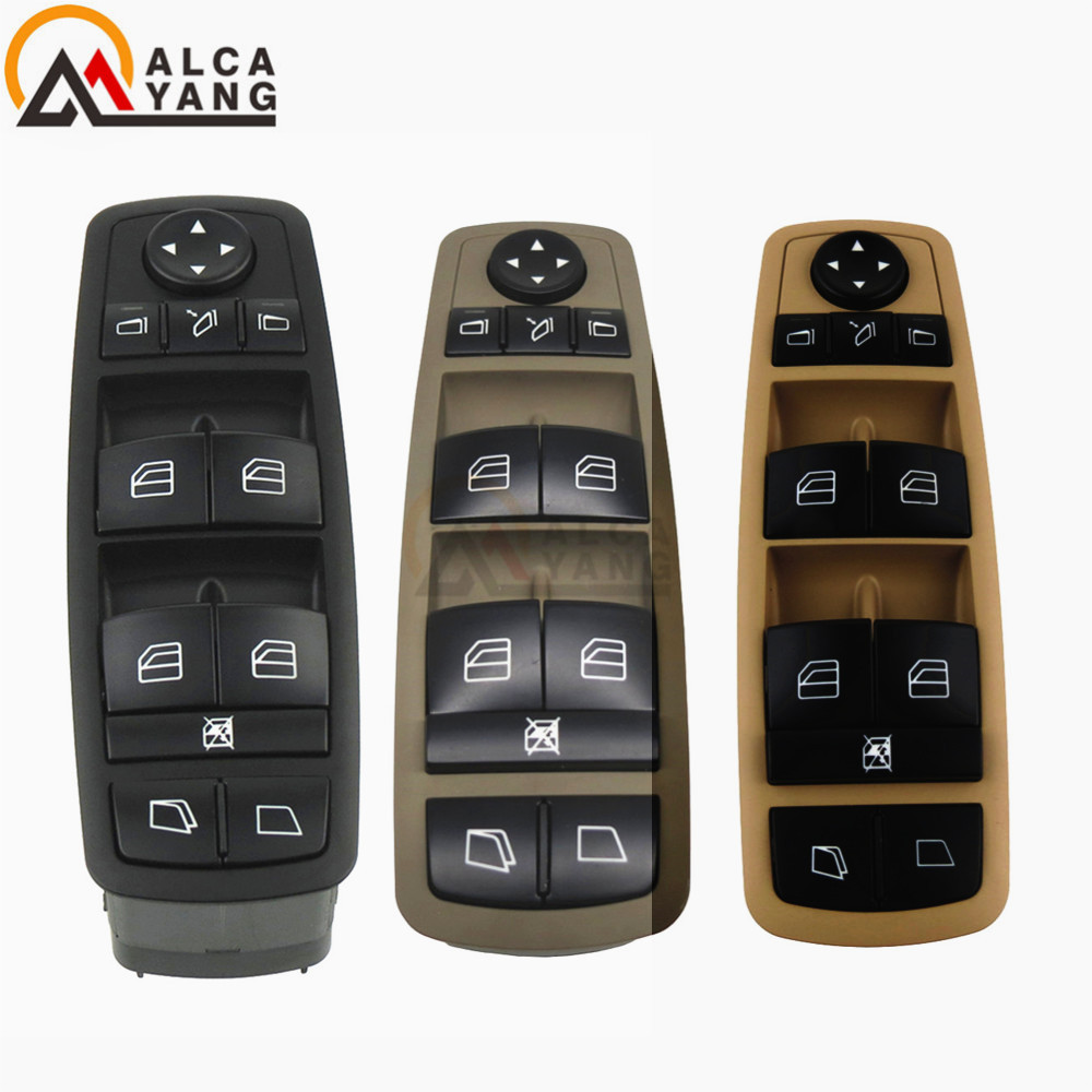 Car Electric Window Master Control Switch For Mercedes Benz GL R Class GL320 GL450 R280 R300 R320 R350 R500 R550 R63 2518300390