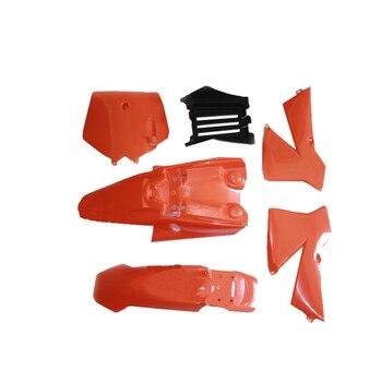 Kit de carenado de chasis de motocicleta, Kit de cubierta de plástico, guardabarros para KTM50 KTM50 SX KTM 50 SX50 50CC Mini Adventure SX Pro JR