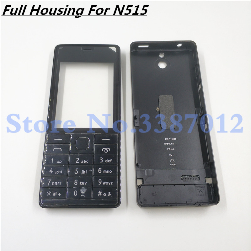 Battery Door Back Cover Full Housing Case Front Frame For Nokia 515 RM-952 With Volume Button With English Keyboard