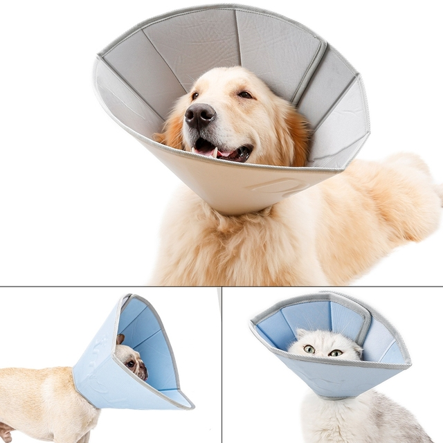 Pet Anti Scratching Neck Collar Velcro Cat Collar Protection 6