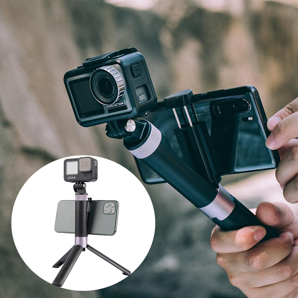 PGYTECH OSMO Pocket 2 Hand Grip & Tripod for Gopro Hero 6 5 4 Xiaomi Yi Action Camera Accessories-0