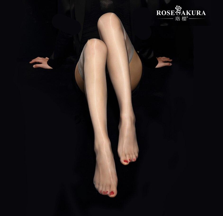 High Stretch Sexy Slim Stockings Wheat Red Thread 919