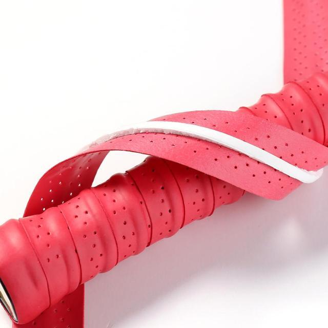 Anti-slip PU Badminton Accessories Grip Sweat-absorbent Belt Badminton Grip Sport Sweatband Tennis Accessories 2
