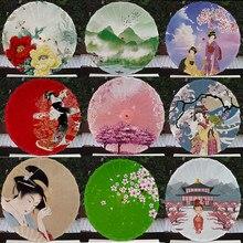 Chinese Klassieke Gedrukt Zijde Paraplu Dansen Prestaties Plafond Paraplu Decoratie