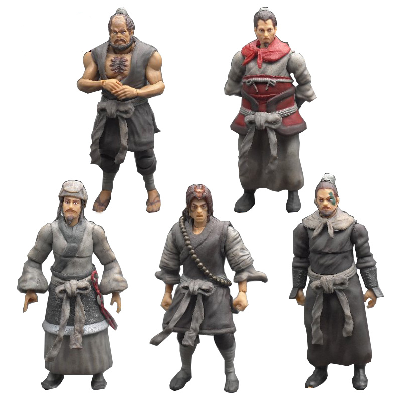 NEW 2019 Water Margin 3.75 -inch  Action Figure  A Birthday Present Collection Model Toys