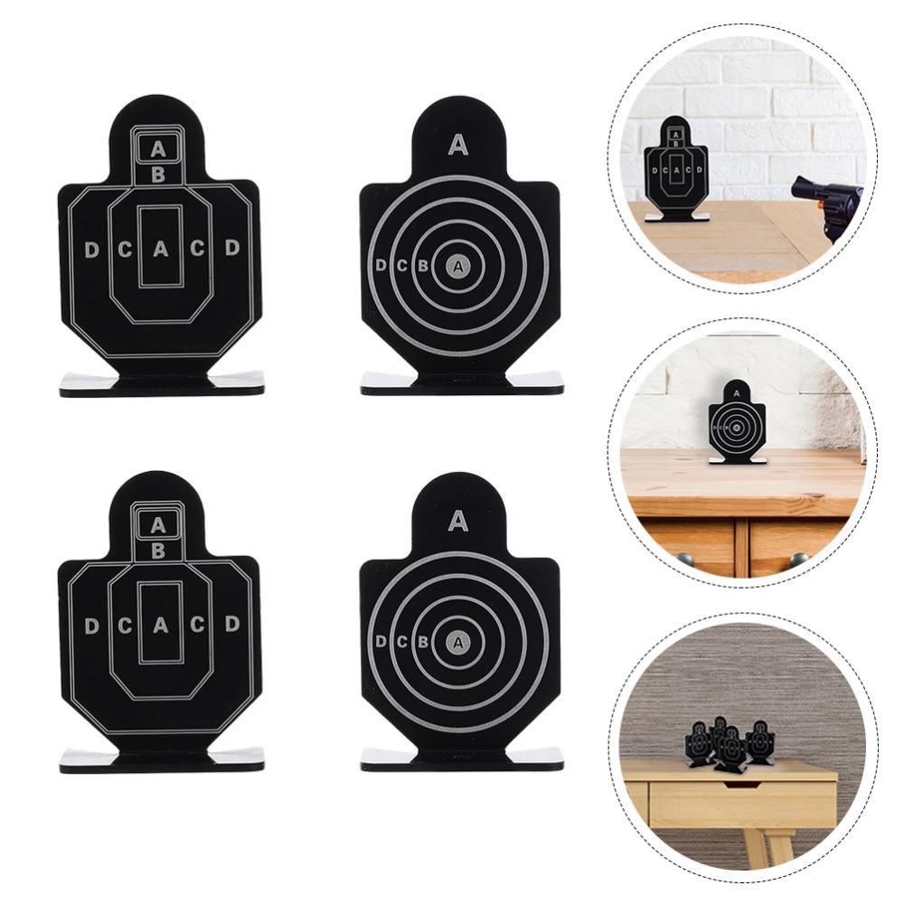 2 Boxes of 8Pcs Shooting Game Targets Shooting Training Stand Range Train Target