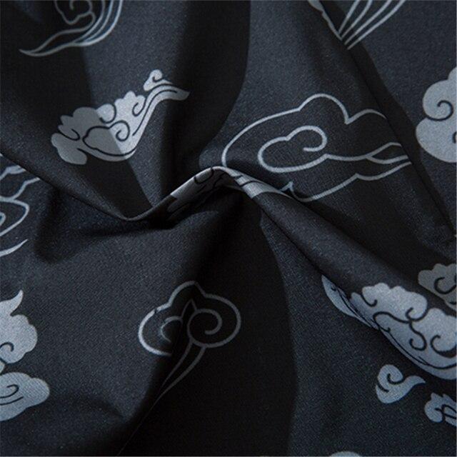 Bebovizi styl japoński kot samuraj Kimono Streetwear mężczyźni kobiety sweter z japonii Harajuku Anime szata ubrania Anime 2020 lato