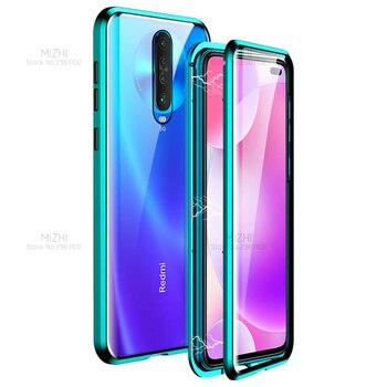 360 Double Sided Glass Case Redmi K30 Case Magnetic Metal Bumper Back Cover For Xiaomi Redmi K 30 K30 Pro 5g RedmiK30 Coque 6.67