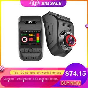 Cámara de salpicadero XPX G585-STR coche dvr 3 en 1 Radar GPS Dvr coche DVR Cámara del coche Full HD 1080P G-srnsor Cámara Monitor de coche registro Dashcam